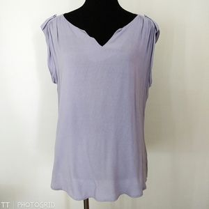 *3 for $15*Maurices pale purple short sleeve top